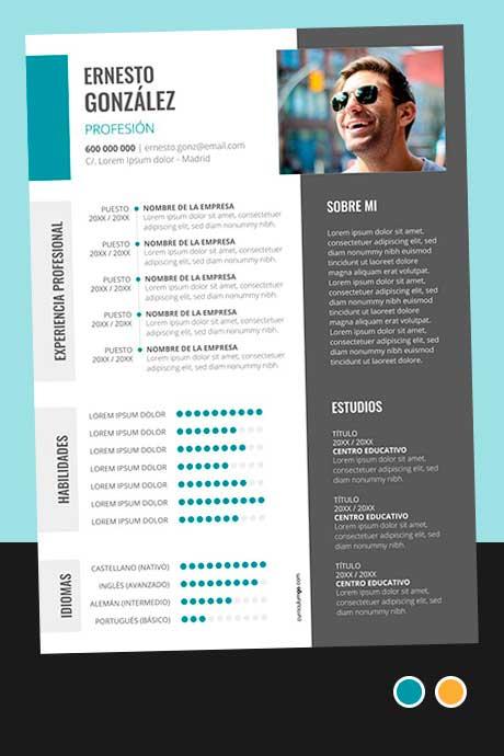 Modelo Currículum Vitae Completo para Descargar Gratis